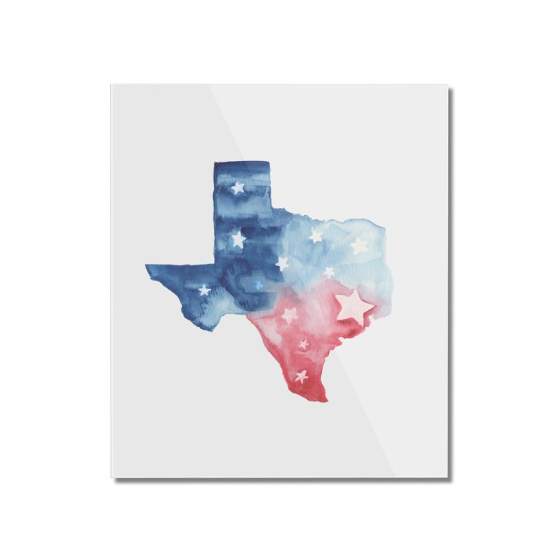 For Texas Home Mounted Acrylic Print by Sam Stone's Shop