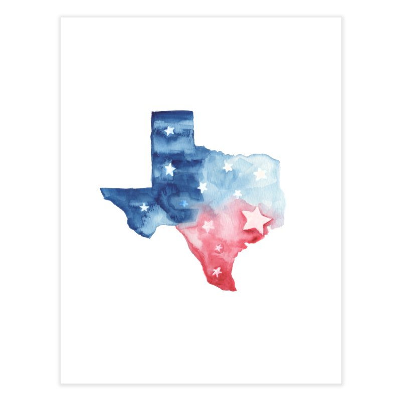 For Texas Home Fine Art Print by Sam Stone's Shop