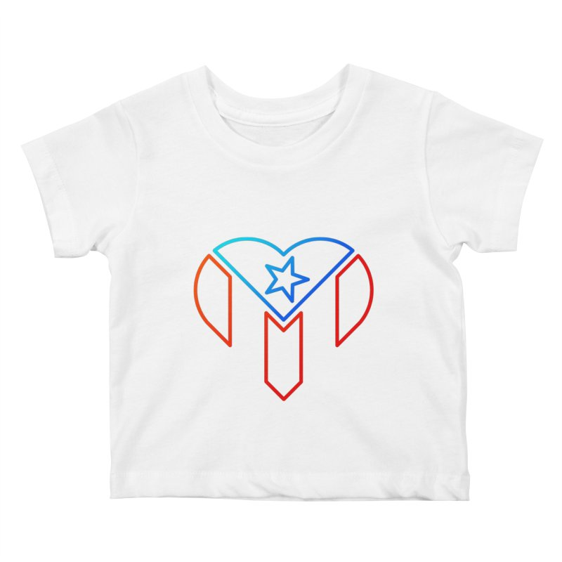 For Puerto Rico Kids Baby T-Shirt by Sam Stone's Shop