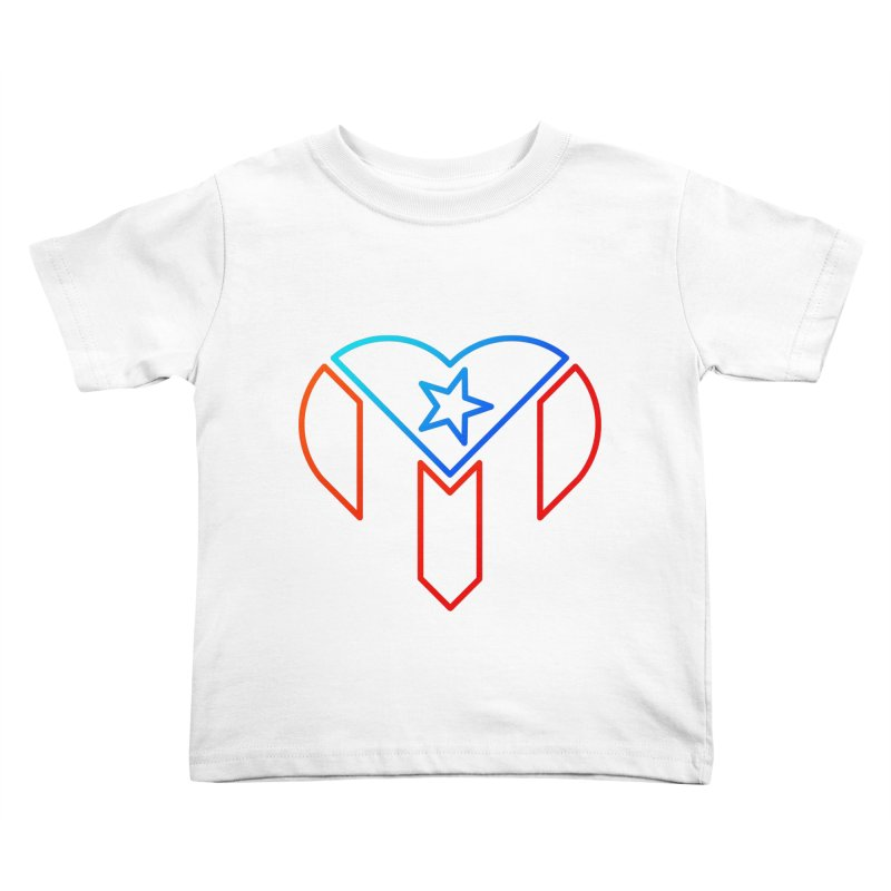 For Puerto Rico Kids Toddler T-Shirt by Sam Stone's Shop