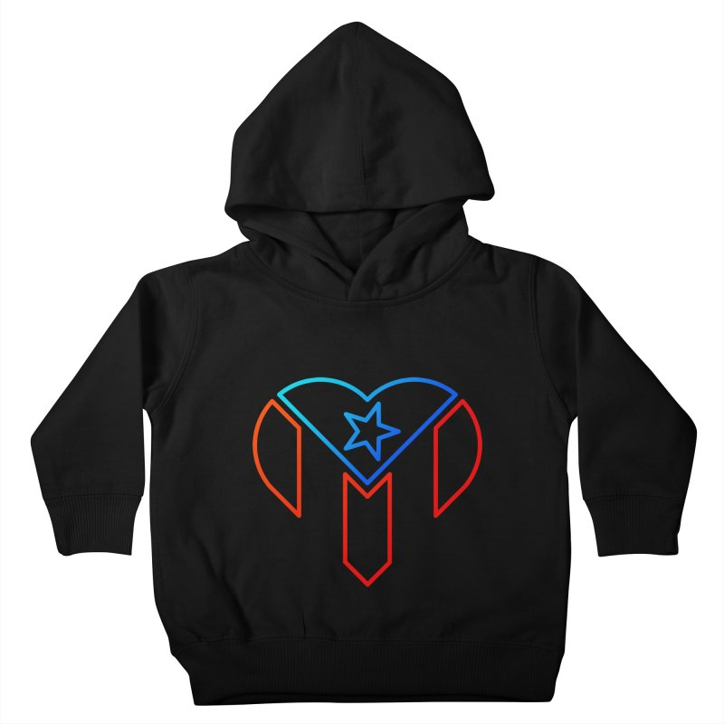 For Puerto Rico Kids Toddler Pullover Hoody by Sam Stone's Shop