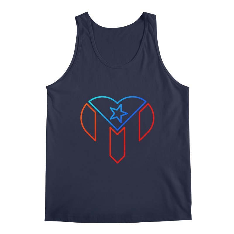 For Puerto Rico Men's Regular Tank by Sam Stone's Shop