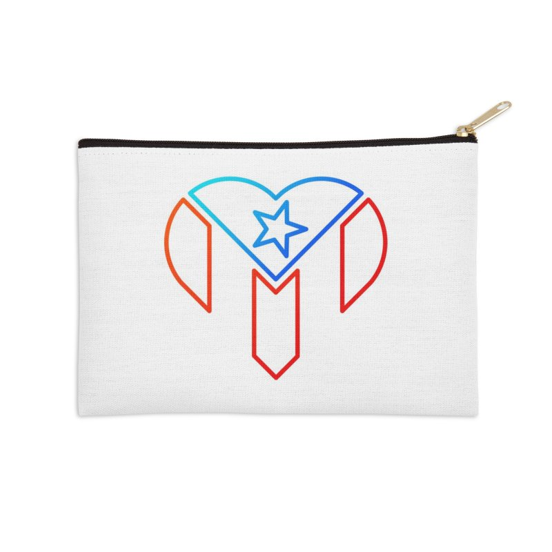 For Puerto Rico Accessories Zip Pouch by Sam Stone's Shop