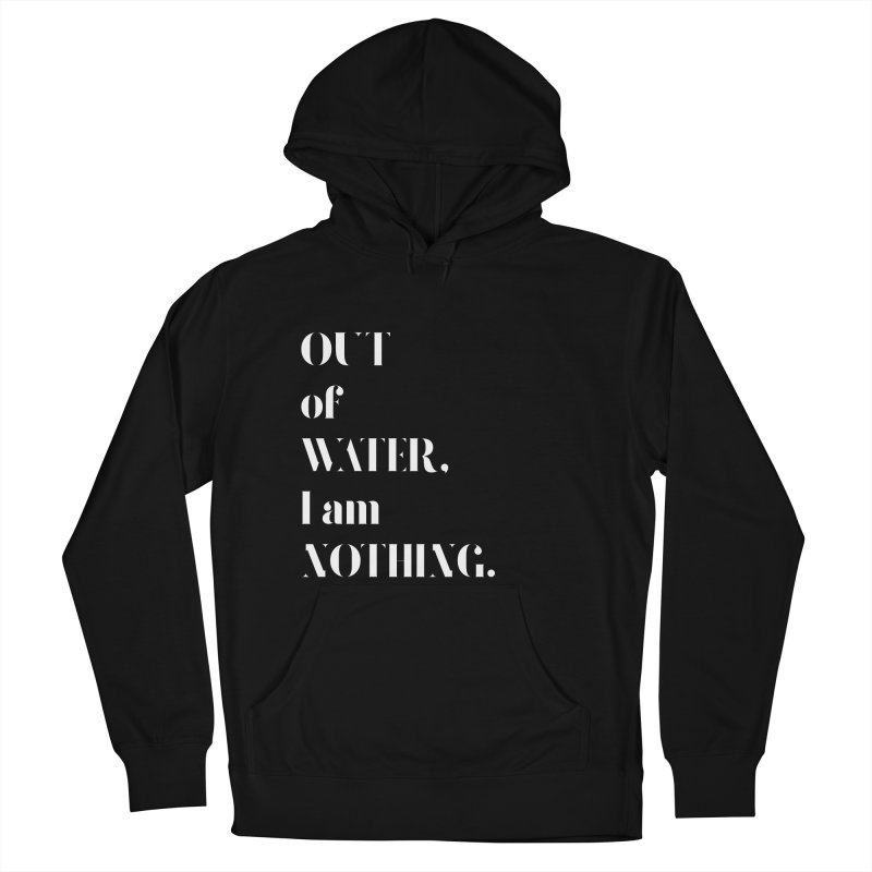 Out of Water Men's Pullover Hoody by Sam Stone's Shop