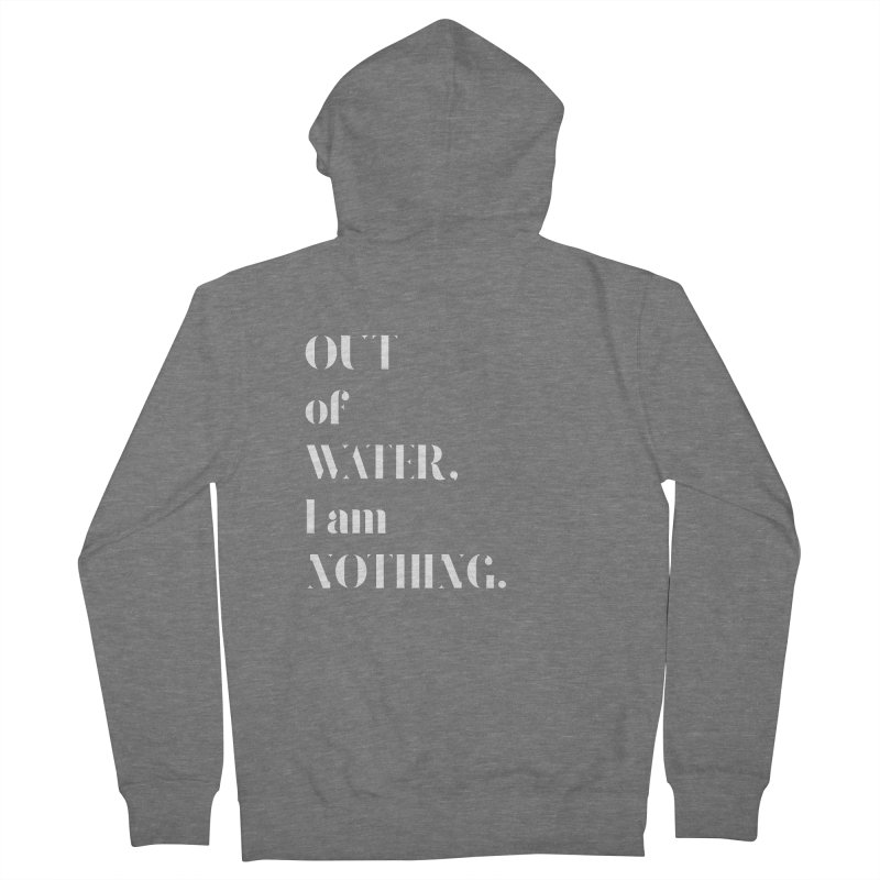 Out of Water Women's Zip-Up Hoody by Sam Stone's Shop