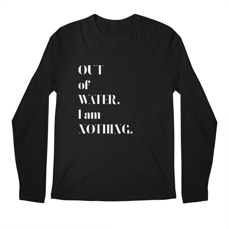 Out of Water Men's Longsleeve T-Shirt by Sam Stone's Shop