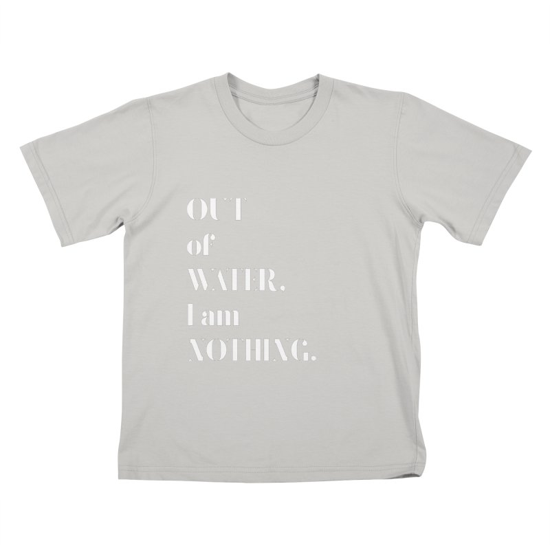 Out of Water Kids T-Shirt by Sam Stone's Shop