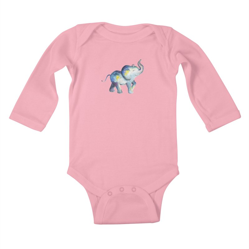 bebé elefante Kids Baby Longsleeve Bodysuit by Sam Stone's Shop