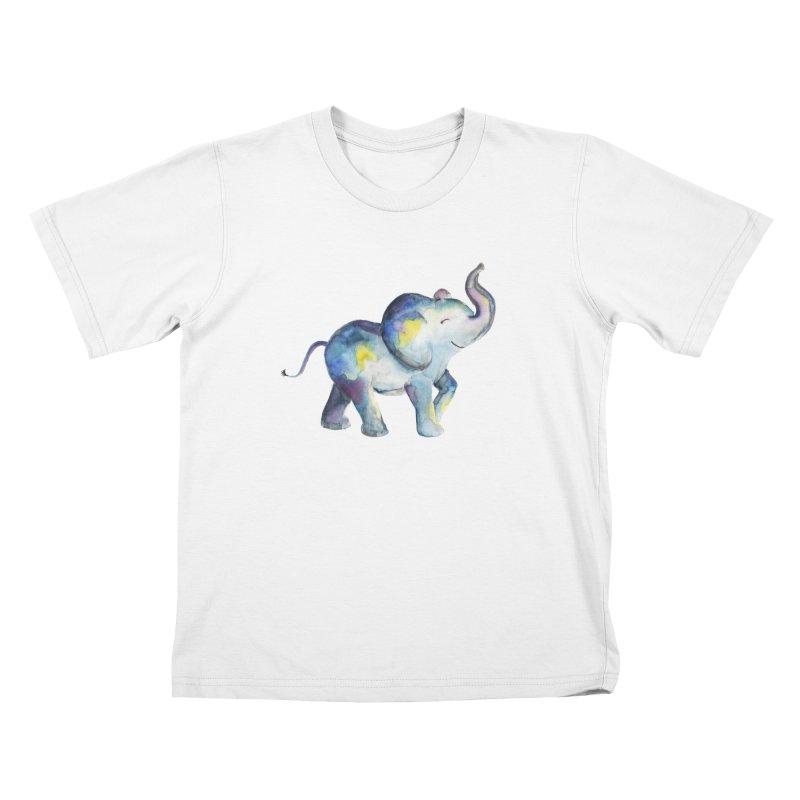 bebé elefante Kids T-Shirt by Sam Stone's Shop