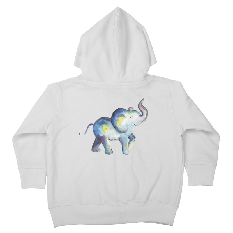 bebé elefante Kids Toddler Zip-Up Hoody by Sam Stone's Shop