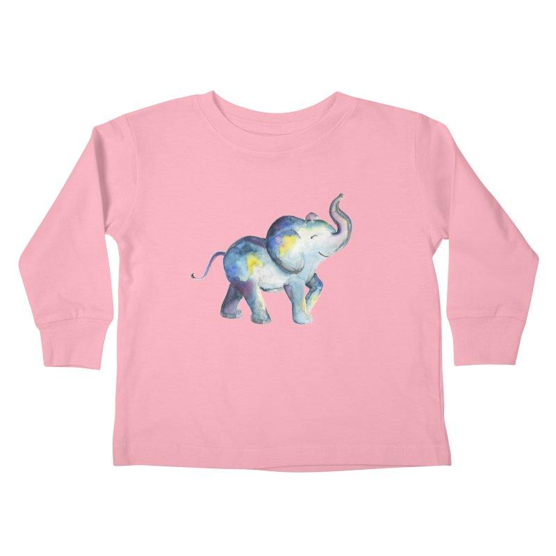 bebé elefante Kids Toddler Longsleeve T-Shirt by Sam Stone's Shop