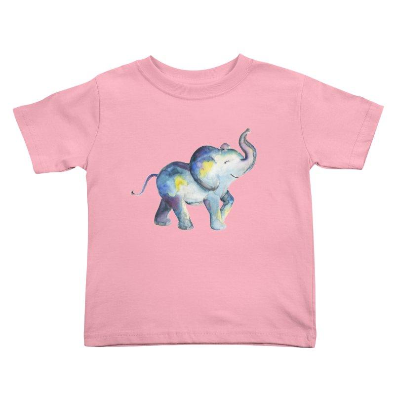 bebé elefante Kids Toddler T-Shirt by Sam Stone's Shop
