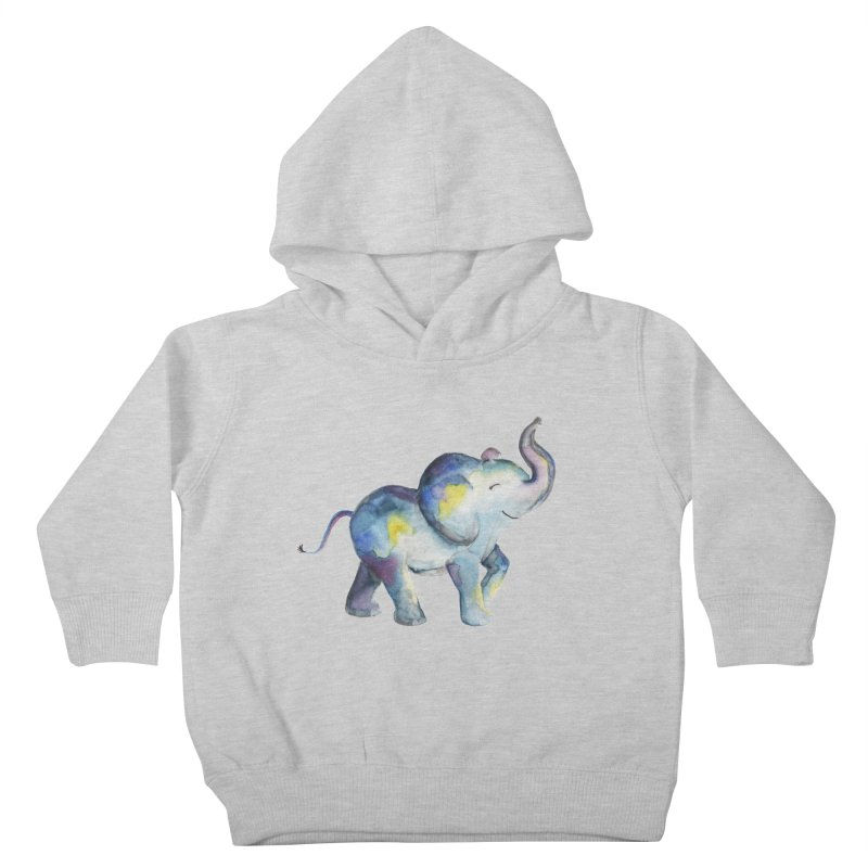 bebé elefante Kids Toddler Pullover Hoody by Sam Stone's Shop