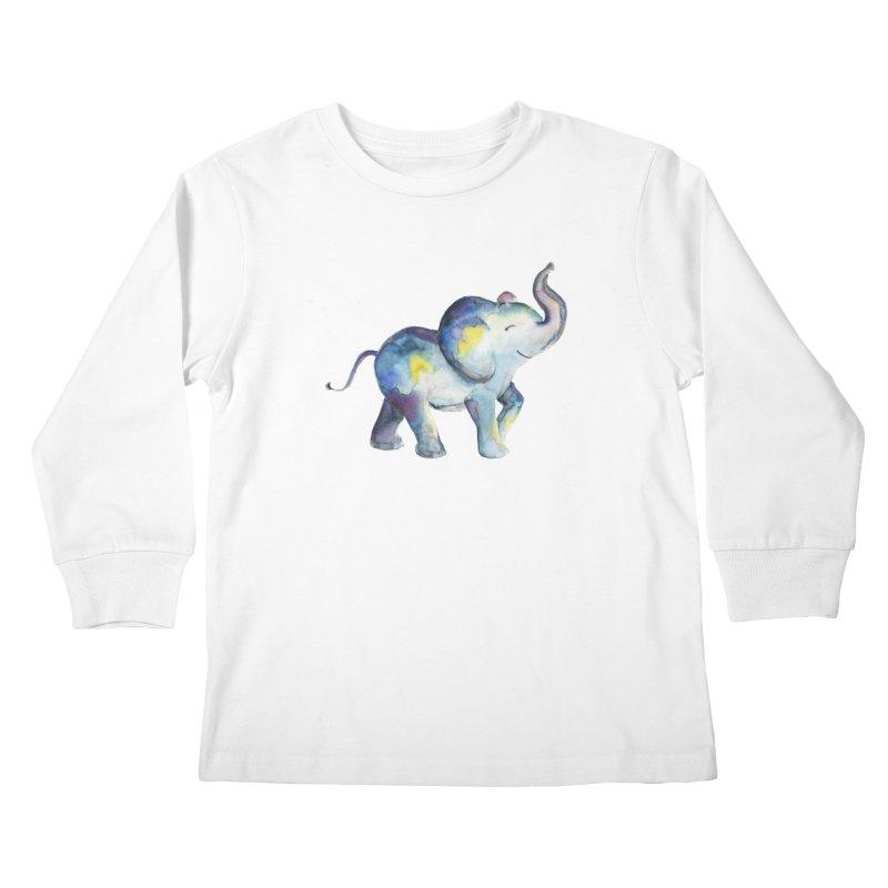 bebé elefante Kids Longsleeve T-Shirt by Sam Stone's Shop