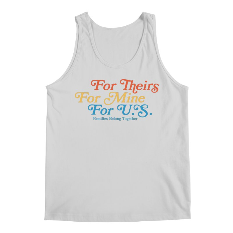 For Theirs. For Mine. For U.S. Men's Regular Tank by Sam Stone's Shop