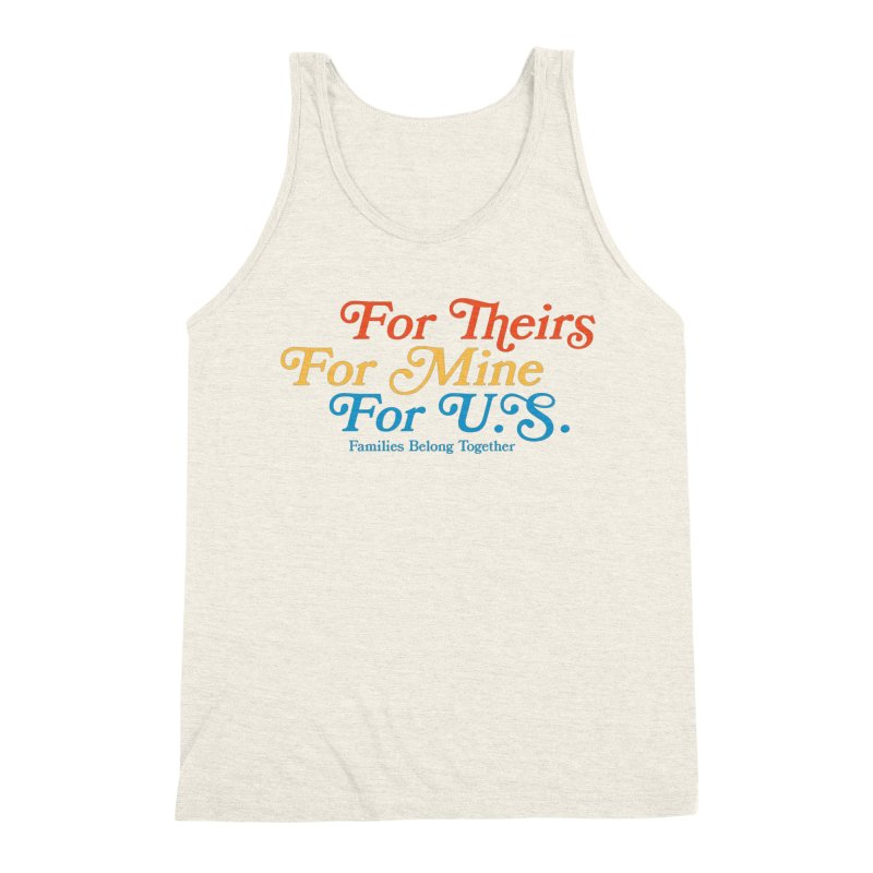 For Theirs. For Mine. For U.S. Men's Tank by Sam Stone's Shop