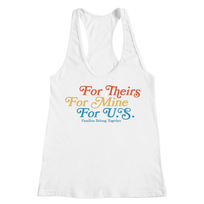 For Theirs. For Mine. For U.S. Women's Tank by Sam Stone's Shop