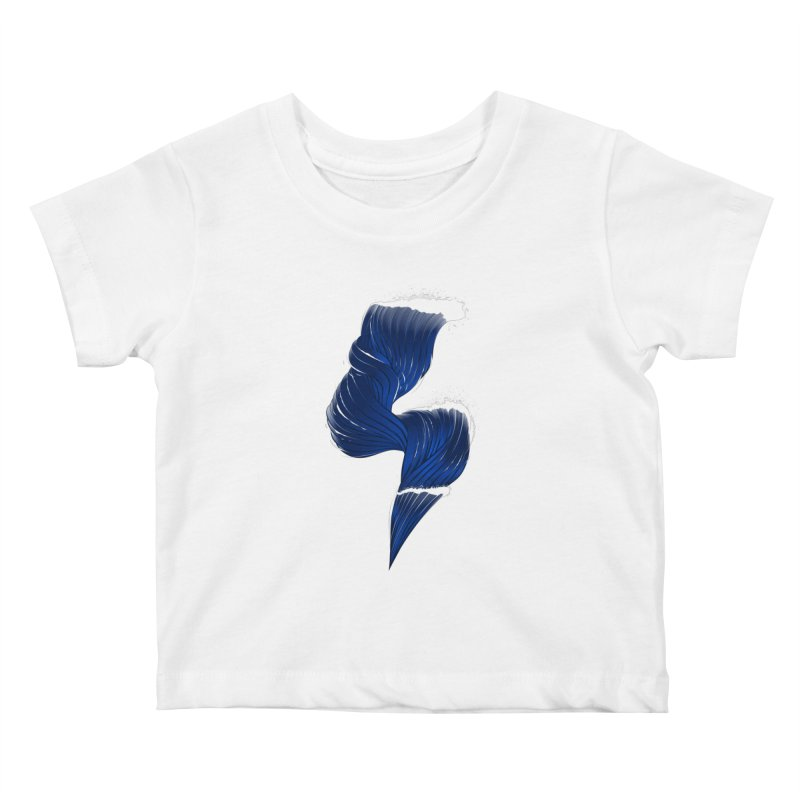 Power Of the Sea Kids Baby T-Shirt by samuelrd's Shop