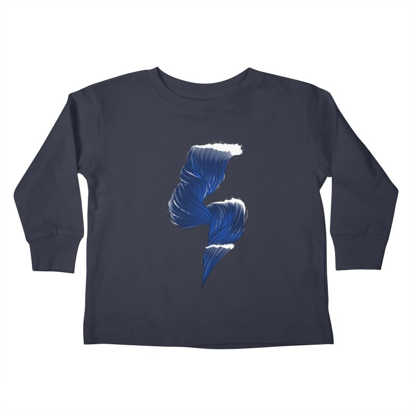 Power Of the Sea Kids Toddler Longsleeve T-Shirt by samuelrd's Shop