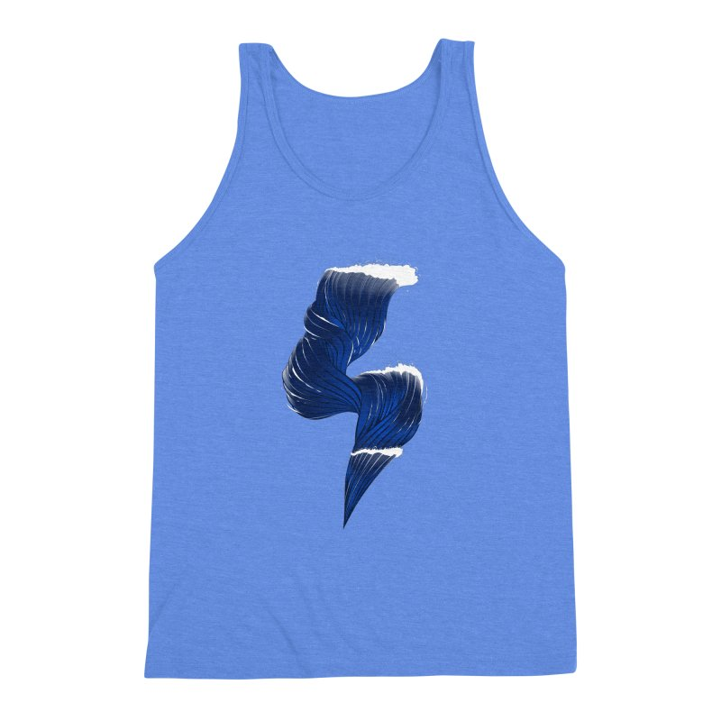Power Of the Sea Men's Triblend Tank by samuelrd's Shop