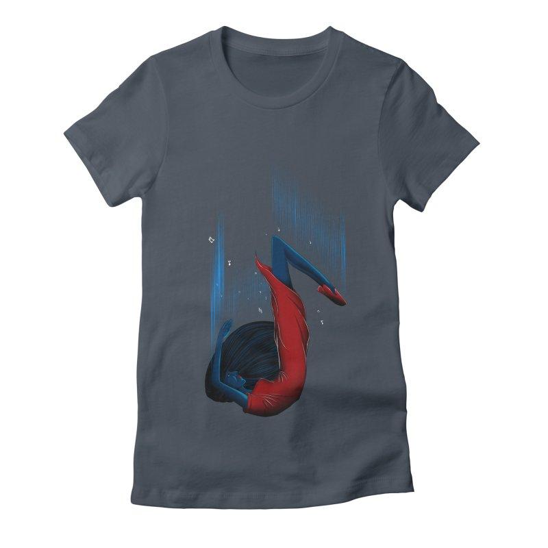 Beyond Music Women's Fitted T-Shirt by samuelrd's Shop
