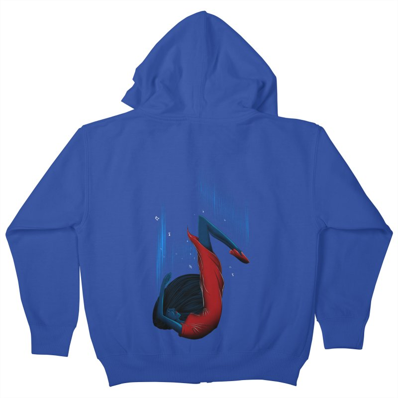 Beyond Music Kids Zip-Up Hoody by samuelrd's Shop