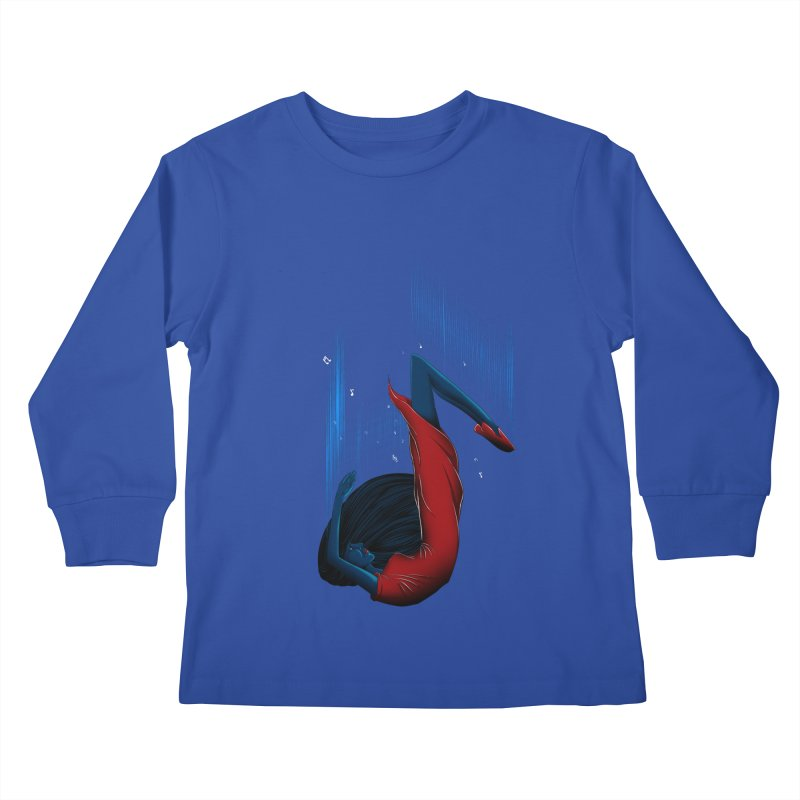 Beyond Music Kids Longsleeve T-Shirt by samuelrd's Shop