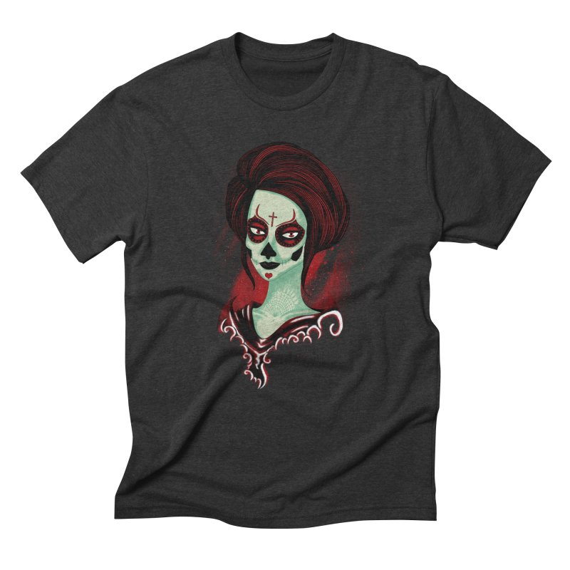 Death Girl Men's Triblend T-shirt by samuelrd's Shop