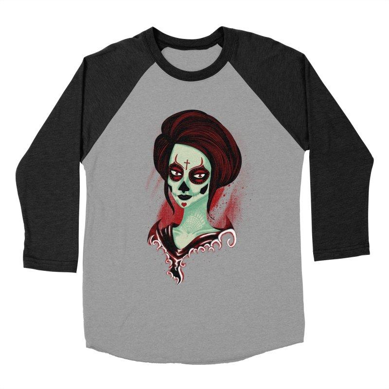 Death Girl Women's Baseball Triblend T-Shirt by samuelrd's Shop
