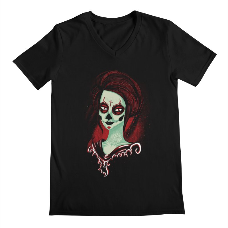 Death Girl Men's V-Neck by samuelrd's Shop
