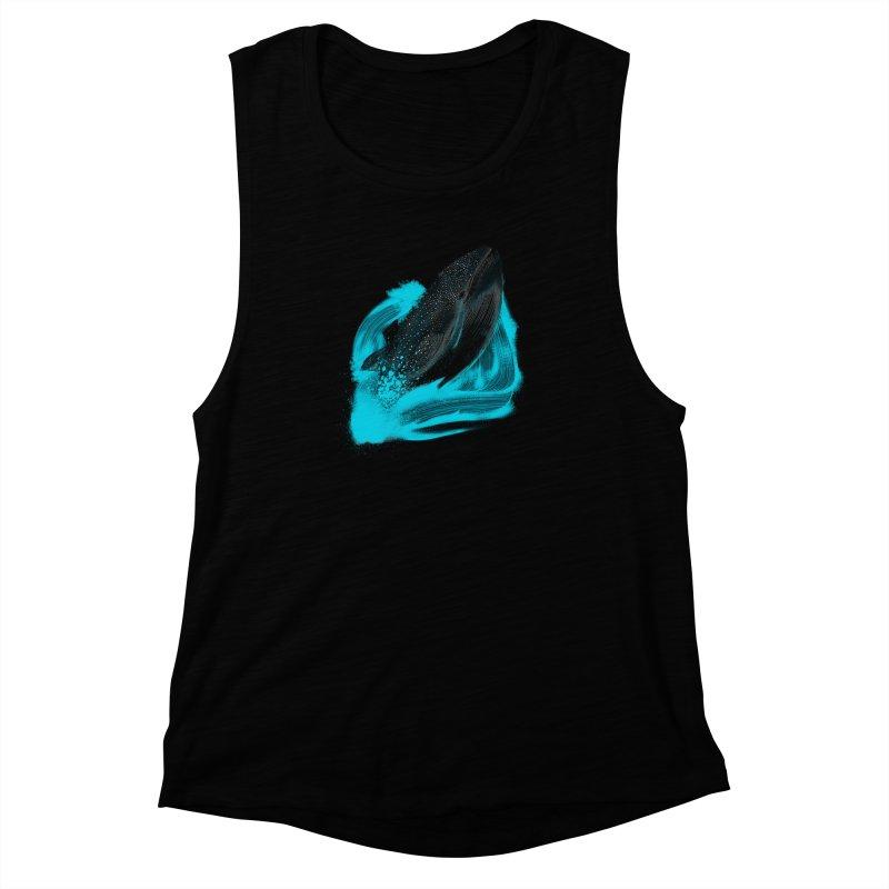 Tears Or the Sea Women's Muscle Tank by samuelrd's Shop
