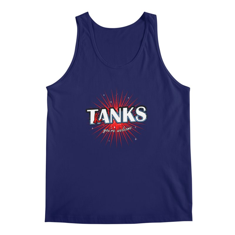 T(h)anks ! Men's Tank by samuelrd's Shop