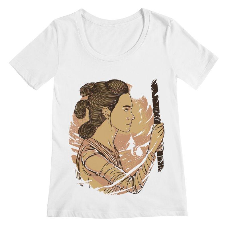 Rey Women's Scoopneck by samuelrd's Shop