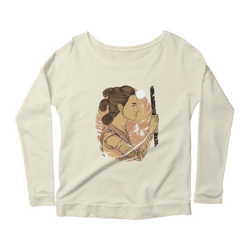 Rey Women's Longsleeve Scoopneck  by samuelrd's Shop
