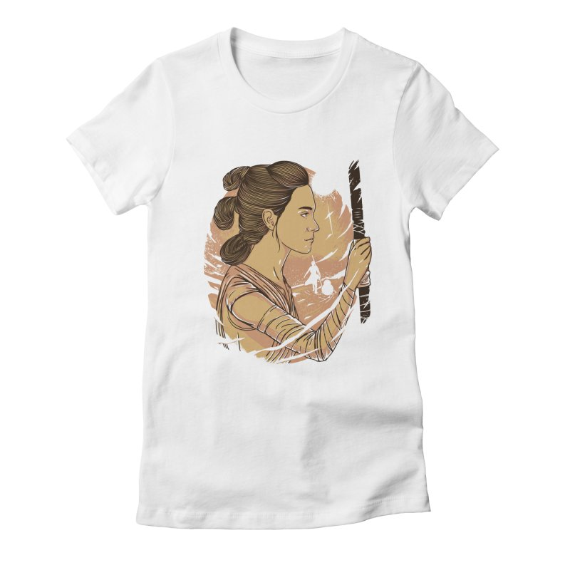 Rey Women's Fitted T-Shirt by samuelrd's Shop