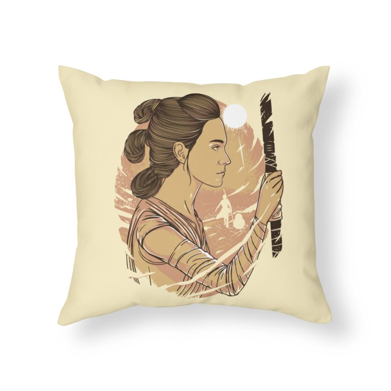 Rey Home Throw Pillow by samuelrd's Shop