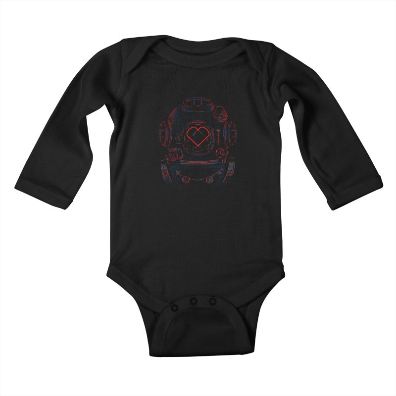 Lost Lover  Kids Baby Longsleeve Bodysuit by samuelrd's Shop