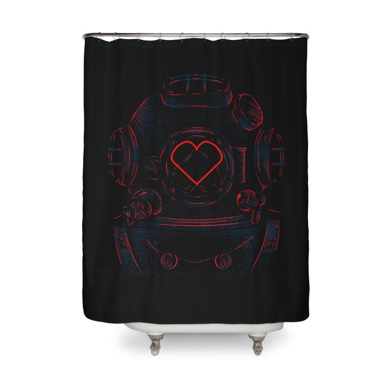 Lost Lover  Home Shower Curtain by samuelrd's Shop