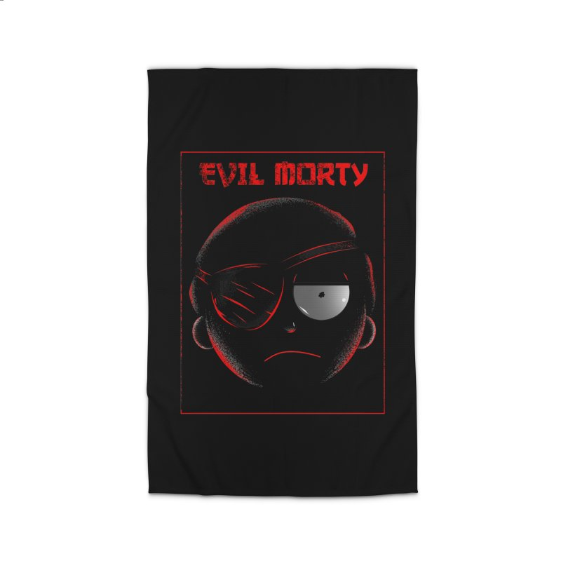 Evil Morty Home Rug by samuelrd's Shop