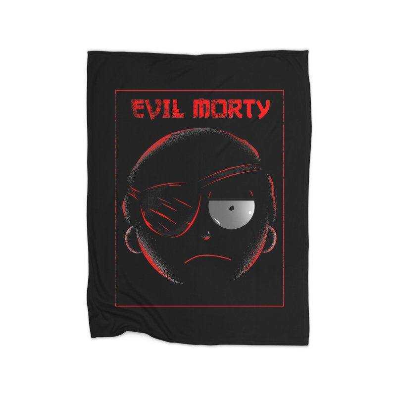 Evil Morty Home Blanket by samuelrd's Shop