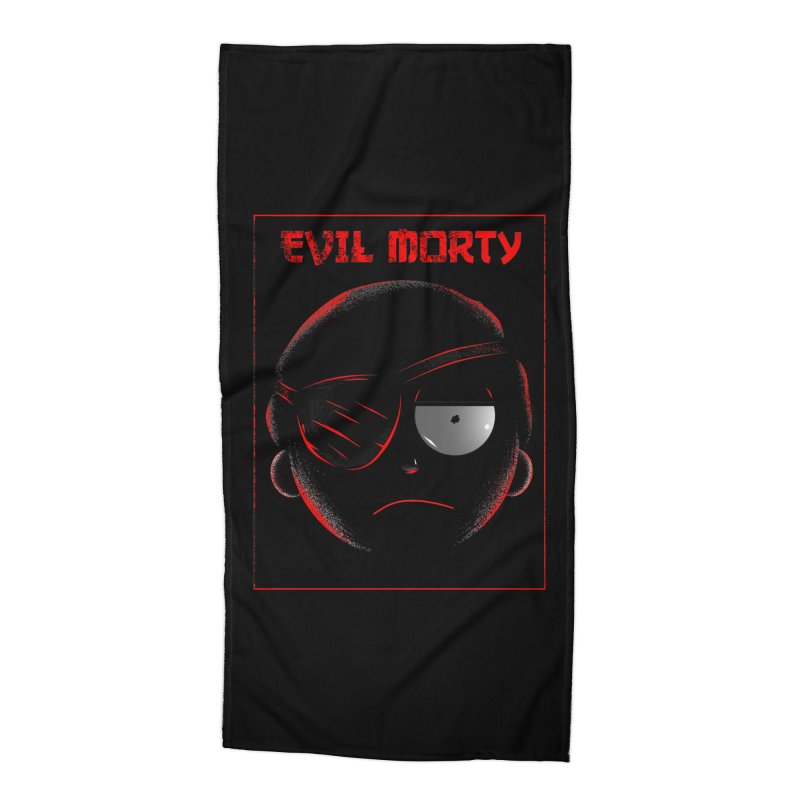Evil Morty Accessories Beach Towel by samuelrd's Shop