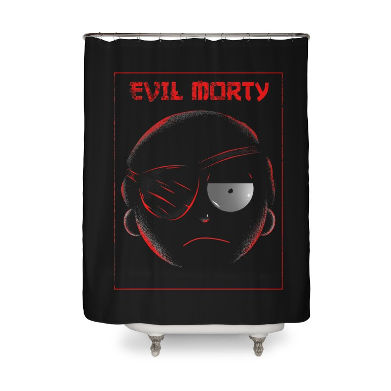 Evil Morty Home Shower Curtain by samuelrd's Shop