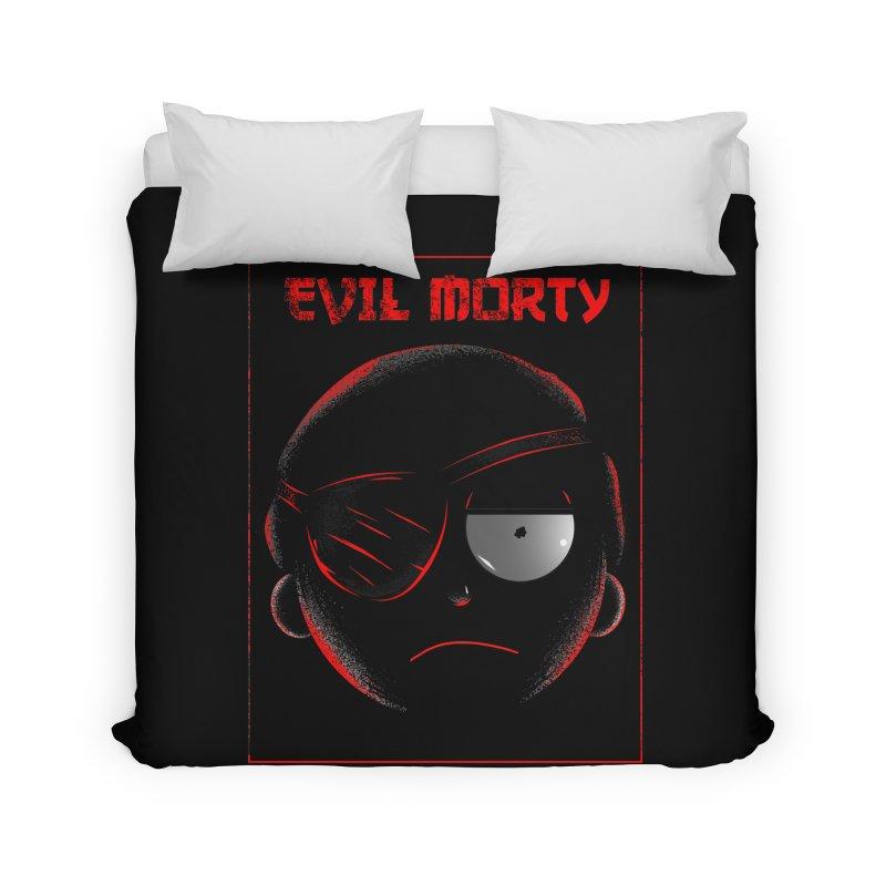 Evil Morty Home Duvet by samuelrd's Shop