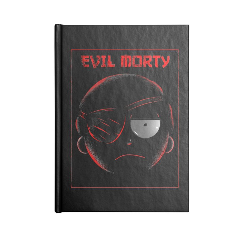 Evil Morty Accessories Notebook by samuelrd's Shop