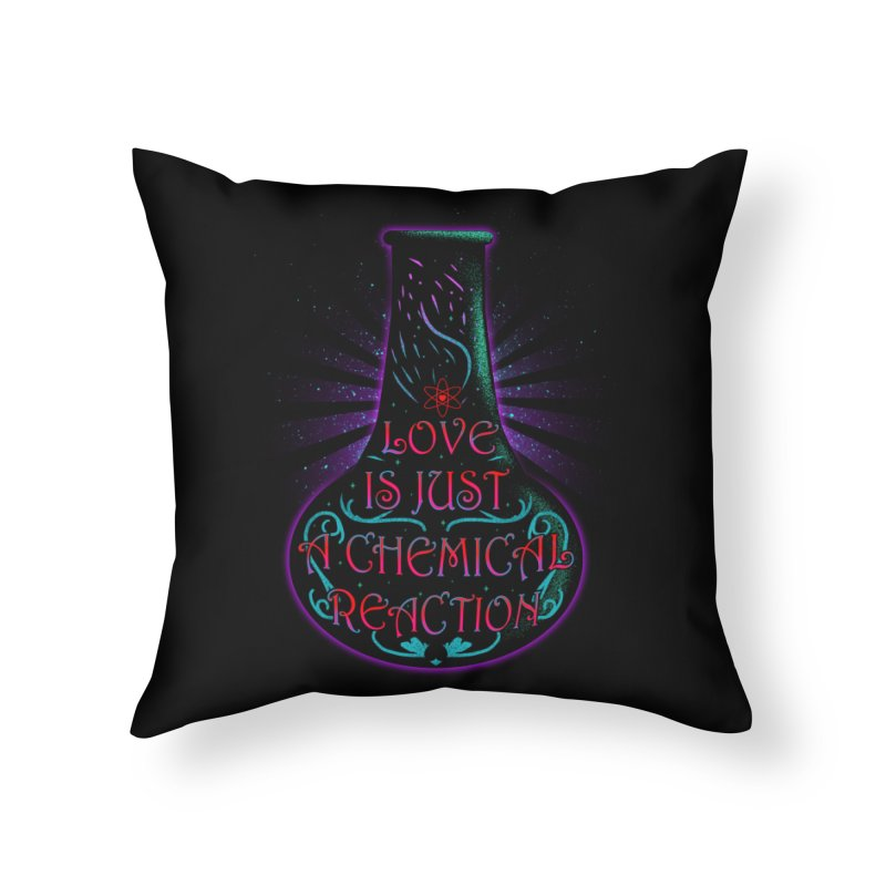 Love Is Home Throw Pillow by samuelrd's Shop