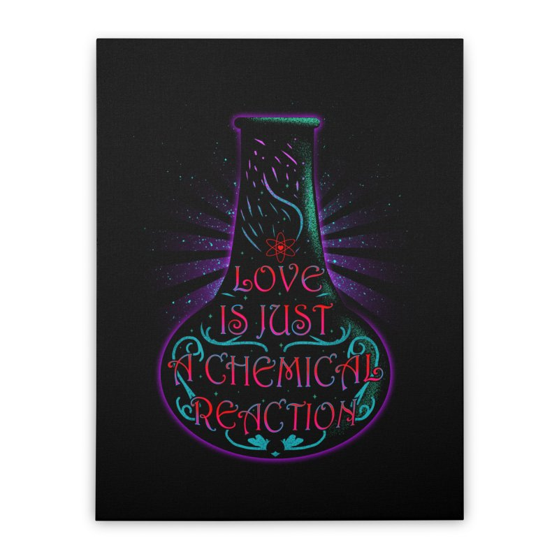 Love Is Home Stretched Canvas by samuelrd's Shop