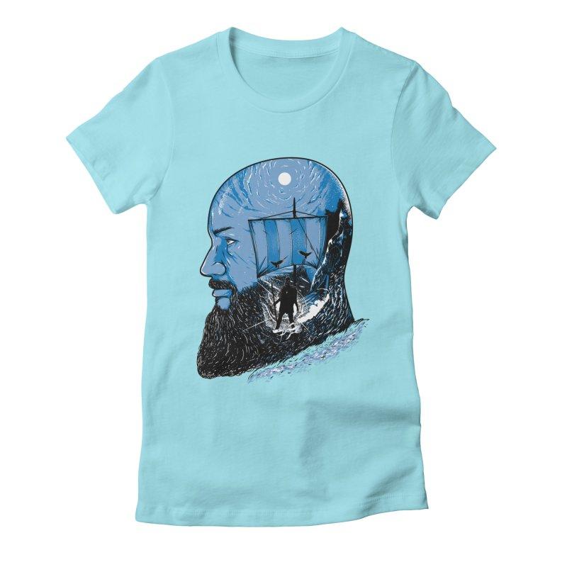 Ragnar Women's Fitted T-Shirt by samuelrd's Shop