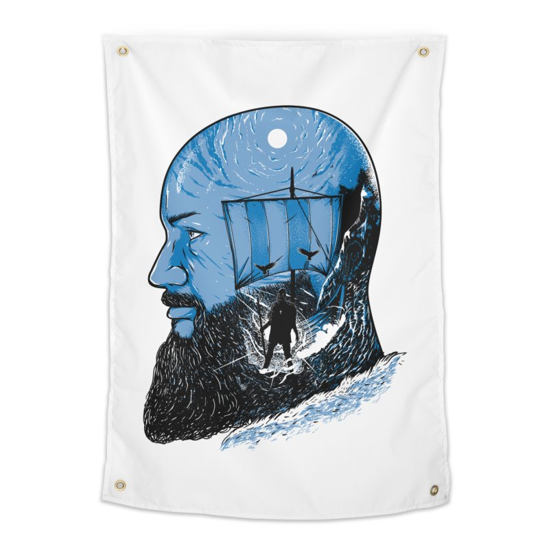 Ragnar Home Tapestry by samuelrd's Shop