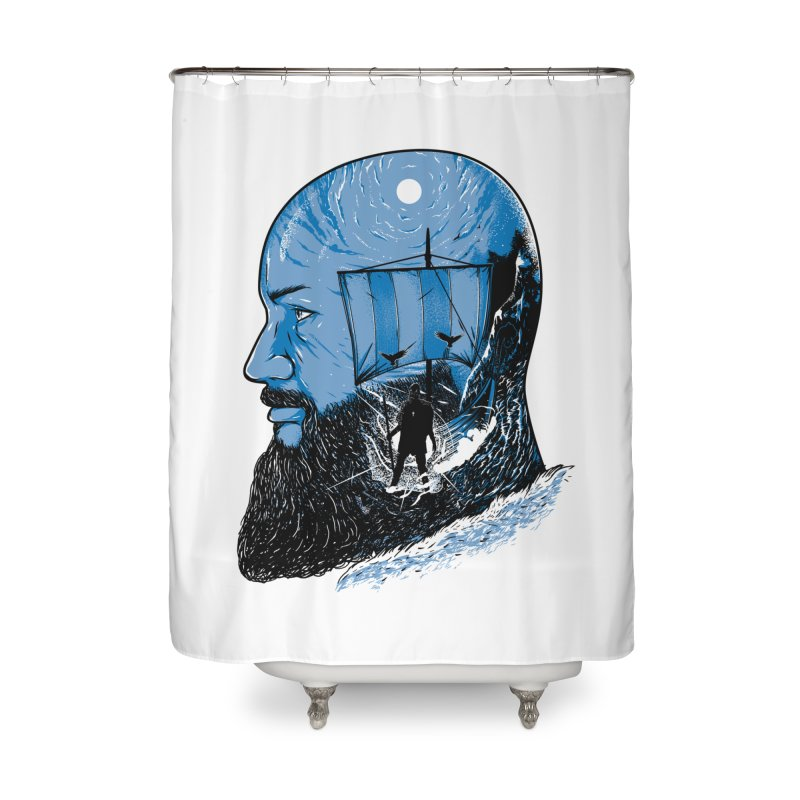Ragnar Home Shower Curtain by samuelrd's Shop