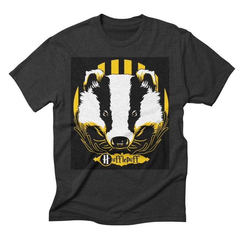 Hufflepuff Men's Triblend T-Shirt by samuelrd's Shop